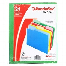 Pendaflex File Folders Assorted Colors