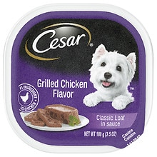Cesar Canine Cuisine Dog Food Grilled Chicken Flavor