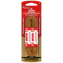 Kiwi Outdoor Shoe Laces Light Brown