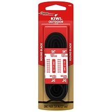 Kiwi Outdoor Shoe Laces Black