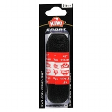 Kiwi Sport Shoe Laces Black