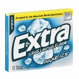 Wrigley's Extra Sugarfree Gum Polar Ice