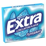 Wrigley's Extra Peppermint Sugarfree Gum Peppermint