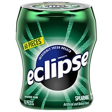 Eclipse Sugarfree Gum, Spearmint