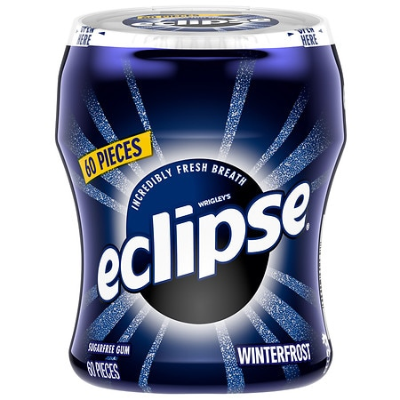 Eclipse Big E Sugarfree Gum Winterfrost
