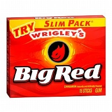 Wrigley's Slim Pack Gum Big Red