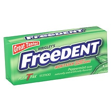 Freedent Gum Peppermint