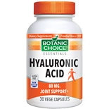Hyaluronic Acid 80 mg Herbal Supplement Capsules