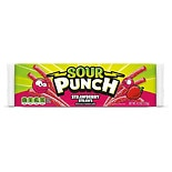 Sour Punch Candy Straws Strawberry