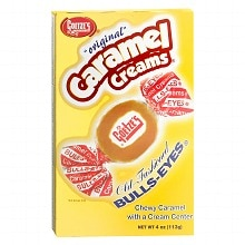 Goetze's Original Caramel Creams Bulls-Eyes Candy