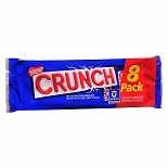 Nestle Crunch Candy Bars 8 Pack