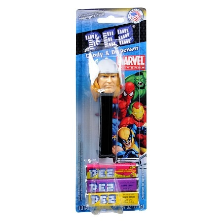 PEZ Marvel Universe Assorted Candy & Dispenser
