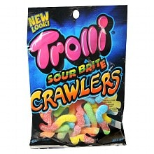 Trolli Brite Crawlers Sour Gummy Candy