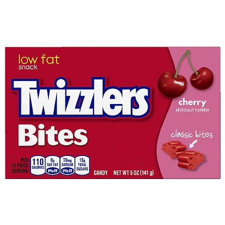 Twizzlers Bites Candy Cherry Flavored