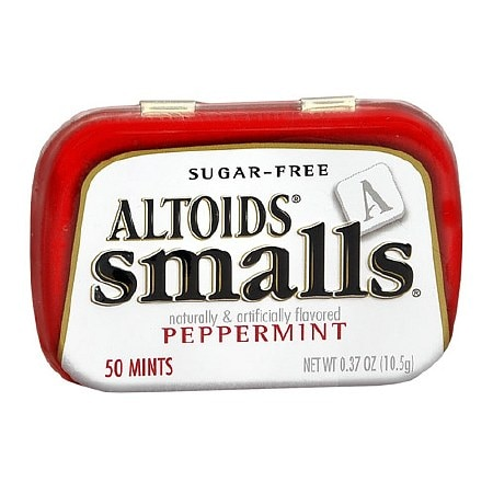 Altoids smalls Sugar-Free Mints Peppermint