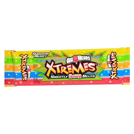 Airheads Extremes Sweetly Sour Belts Candy