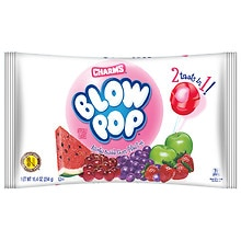Charms Blow Pop Assorted Bubble Gum Filled Pops