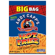 Andy Capp's Hot Fries Corn & Potato Snacks