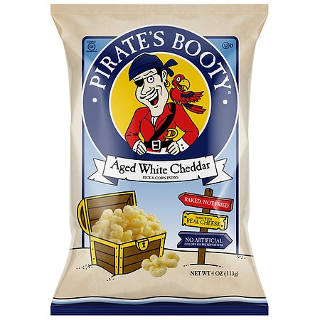 Pirate's Booty Baked Rice and Corn Puffs