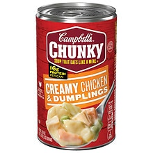 Campbell's Chunky Soup Chicken & Dumplings