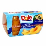 Dole Yellow Cling Sliced Peaches in Light Syrup