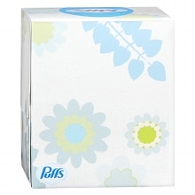 Non-Lotion Facial Tissue, White