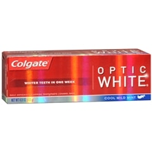 Colgate Optic White Anticavity Fluoride Toothpaste Mint