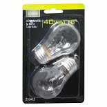 Living Solutions Light Bulbs Clear 40 Watt Appliance & Fan A15