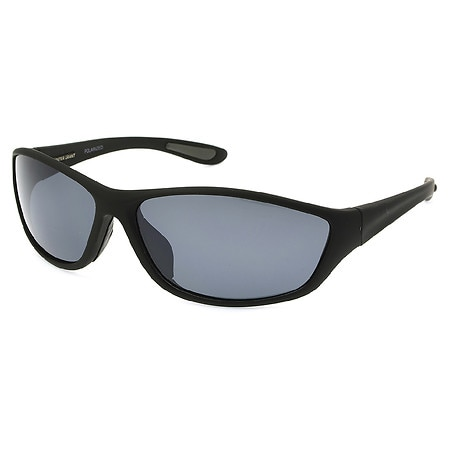 Foster Grant Plastic Sunglasses Backstop Black