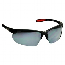 Foster Grant Ironman Plastic Sunglasses Adrenaline Black/Red