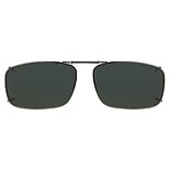 Solar Shield PolarTX Metal ClipOns Lens Full Frame 54 Rec 19 Gray