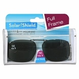 Solar Shield PolarTX Metal ClipOns Lens Full Frame 56 Rec 1 Gray