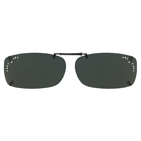 Solar Shield PolarTX ClipOns Lens Frameless 56 RecA Gray