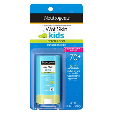 Neutrogena Wet Skin Kids Sunscreen Stick, SPF 70