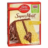 Betty Crocker Super Moist Cake Mix Yellow