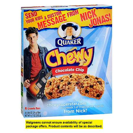 Quaker Chewy Granola Bars 8 Pack