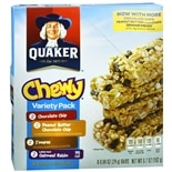 Quaker Chewy Granola Bars 8 Pack Chocolate Chip