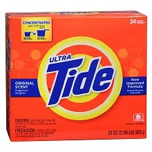 Tide Ultra Laundry Detergent Powder Original Scent