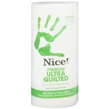 Nice! Premium Ultra Quilted Paper Towels Single Roll