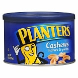 Planters Cashews Halves & Pieces