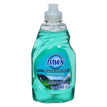 Dawn Ultra Concentrated Dishwashing Liquid New Zealand Springs Scent