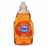Dawn Ultra Concentrated Antibacterial Hand Soap Liquid Orange Scent