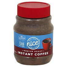 Nice! Instant Coffee Granules Original Roast