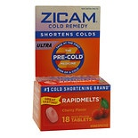 Zicam Ultra Cold Remedy RapidMelts Quick Dissolve Tablets Cherry