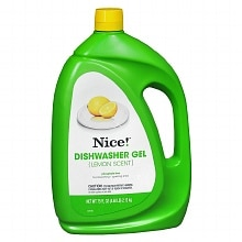 Nice! Dishwasher Gel Lemon