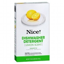 Nice! Dishwasher Detergent Powder Lemon