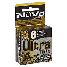 NuVo Nude Ultra Thin Lubricated Premium Latex Condoms