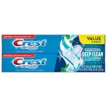 Crest Complete Multi-Benefit Whitening + Deep Clean Fluoride Toothpaste 2 Pack Effervescent Mint