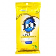 Pledge Cleaning Wipes Lemon
