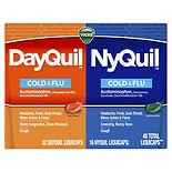 Vicks Dayquil Nyquil Cold & Flu Relief Combo Pack, LiquiCaps